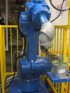 水性塗料対応塗装ロボット